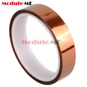 20mm-30m-100ft-Kaptonband-Tape-Klebeband-hochtemperatur-Hitzebestaendige-enthaltend