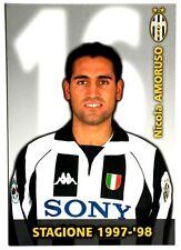Cartoncino Juventus 1997/98 – Nicola Amoruso
