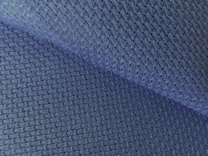 Zweigart Royal Blue 14 count Aida  50 cm x 50 cm