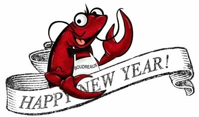Happy New Year # 11-8 x 10 T Shirt Iron On Transfer