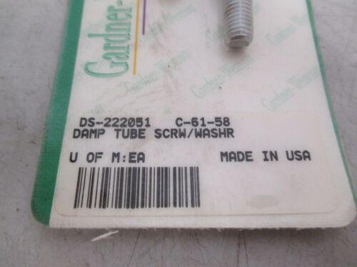 Gardner-Wescott Damper Tube Screws//Washrs DS-222051