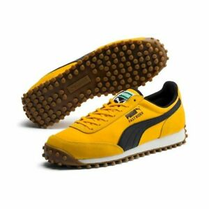PUMA-Fast-Rider-in-Yellow-Black-Men-039-s-Trainers-All-Sizes-Limited-Stock-371601-04