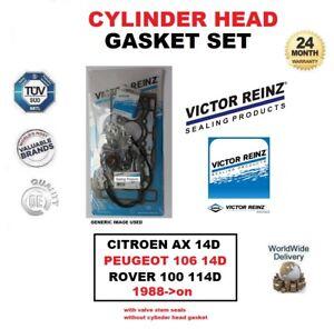 VICTOR-REINZ-Set-juntas-de-culata-para-CITROEN-Hacha-PEUGEOT-106-1-4d-ROVER-100
