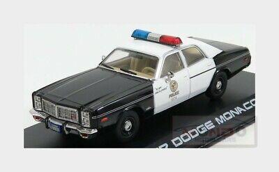 New Greenlight GREEN84101 Dodge Monaco Metropolitan Police The Terminator 1984 1:24