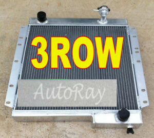 3 ROW Aluminum Radiator for Toyota Land Cruiser FJ40 FJ45 Petrol MT LandCruiser