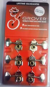 6-Grover-Sta-Tite-Guitar-Tuners-Tuning-Machine-Heads-NICKEL-Guitar-Parts-V97N