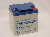 Power Sonic 12v 28ah (24ah 26ah 30ah) Agm/gel Motocaddy Golf Trolley Battery