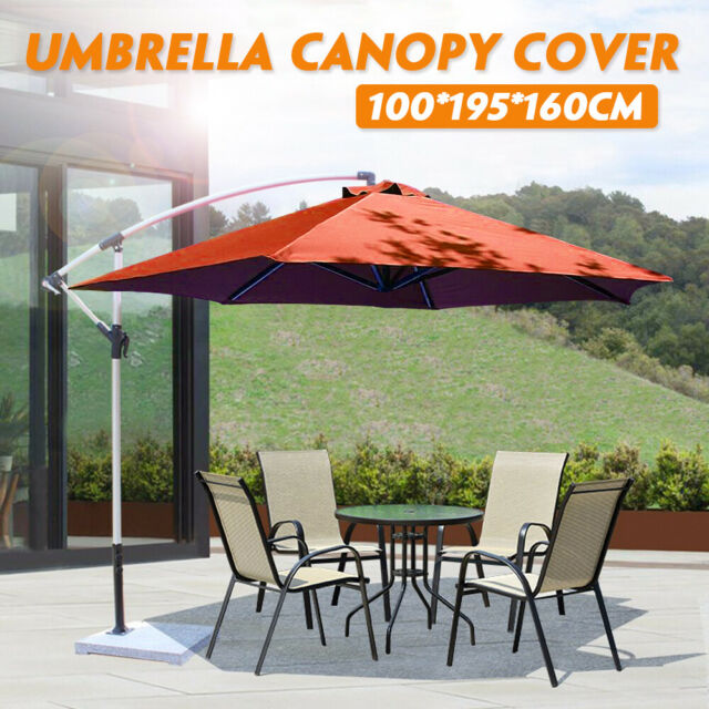 Garden parasol replacement cover