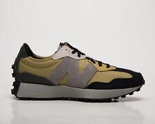 New Balance 327 золотых мака мужские хаки зеленый серый горчично-желтый кроссовки обувь