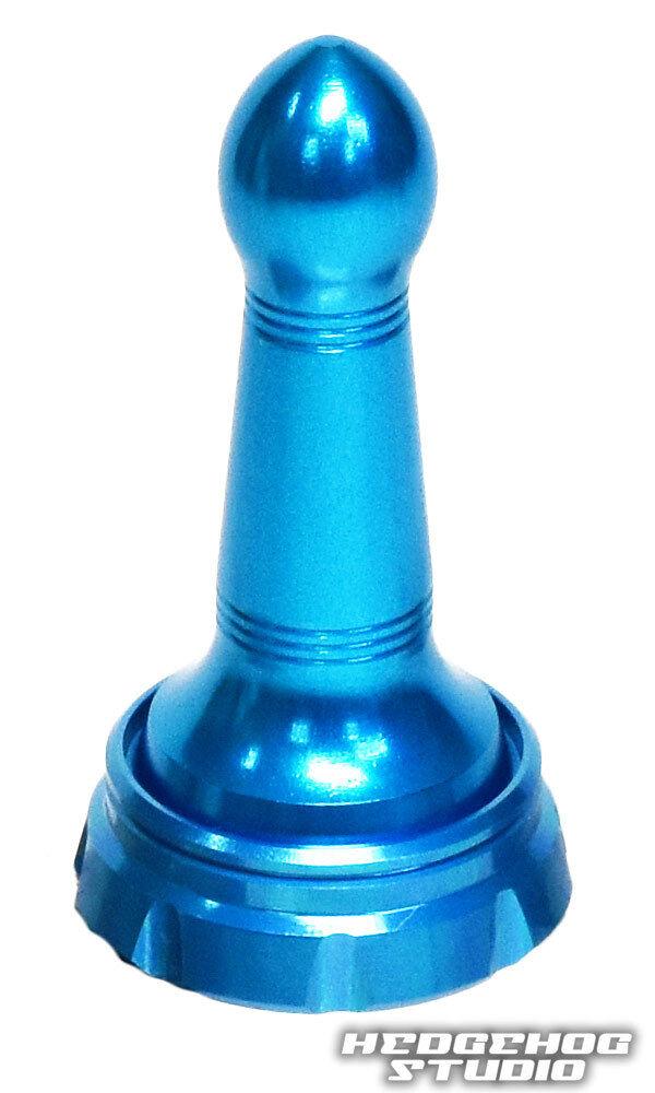 HEDGEHOG STUDIO Handle Screw Cap Long Type HLC-SD-A Spinning Reel SKY blueE