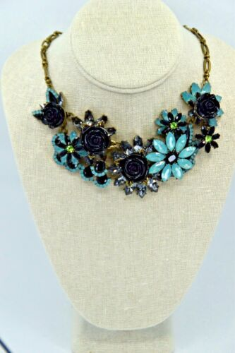 Joan Rivers Jeweled Garden Statement Necklace