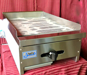 NEW-18-034-Flat-Top-Griddle-Gas-Stratus-SMG-18-1064-Commercial-Restaurant-Grill-USA