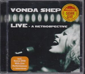 Vonda Shepard CD A Retrospective LIVE + Bonus DVD + live performances + intervie