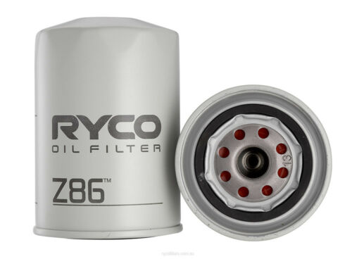 BOX OF 6 FOR LEYLAND P76 4.4L Ryco Oil Filter Z86