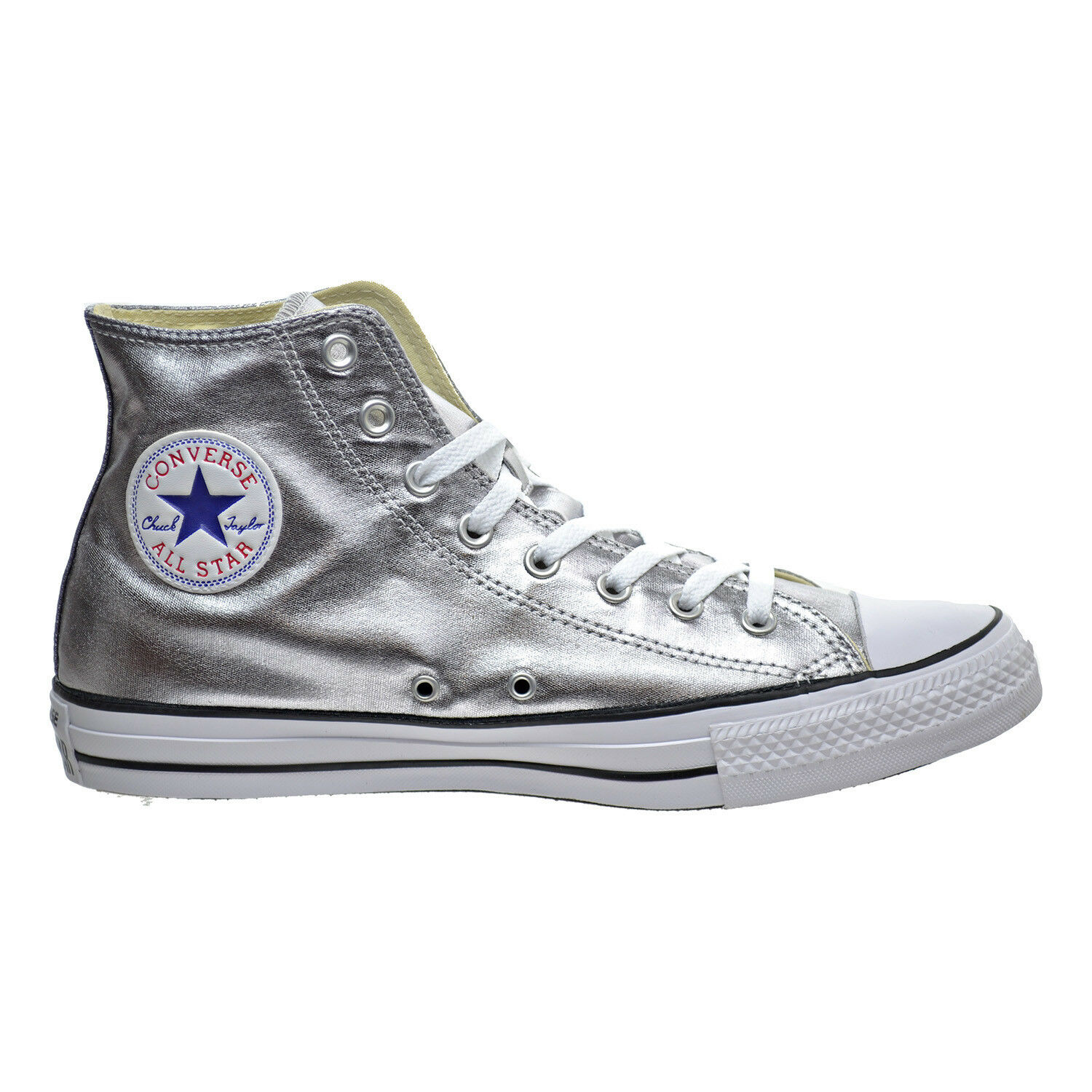 New Mens 10 Converse Chuck Taylor All Star CTAS Hi GunMetal Black 153177F  65