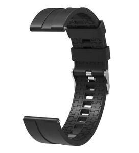 For-Huawei-Watch-GT-GT2-Strap-Silicone-Band-Replacement-Wrist-Black-LARGE-46mm