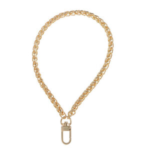 2pcs Metal Wrist Bag Chains Replacement Handle Strap for Purse Handbag 20cm