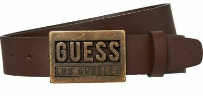 HANDCRAFTED IN TASMANIA VINTAGE LOOK ! 100/% Genuine Leather Belt
