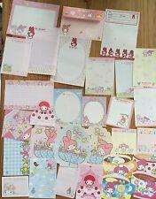 Sanrio MY MELODY Stationery / Stationary Memo LOT 30 sheets Writing Paper