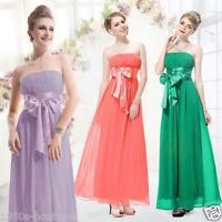 Dress Long Evening Party Maxi Boho Floral New Womens Cocktail Summer Beach Dress