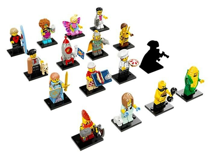 Gourmet Chef 71018-3 COL288 R829 LEGO Collectable Mini Figure Series 17
