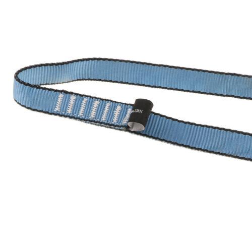 80cm Lanyard Strap Rock Climbing Rope Cord Tactical Protect Sling 23KN