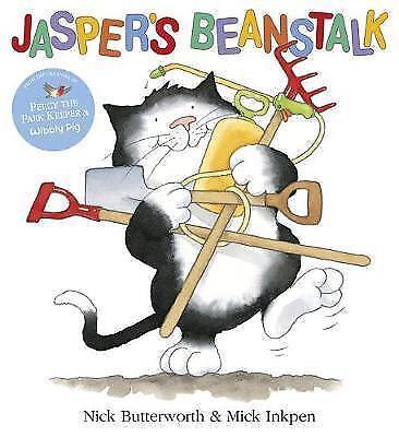 1 of 1 - Butterworth, Nick, Jasper's Beanstalk, Very Good Book