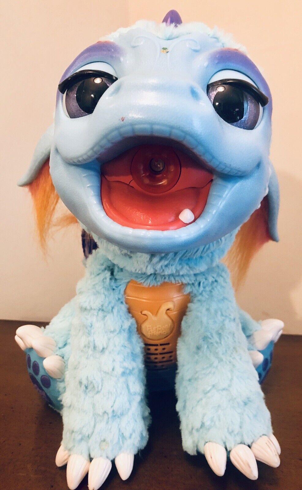 Hasbro FurReal vänner bränner min Blazin Dragon med accessoarer.