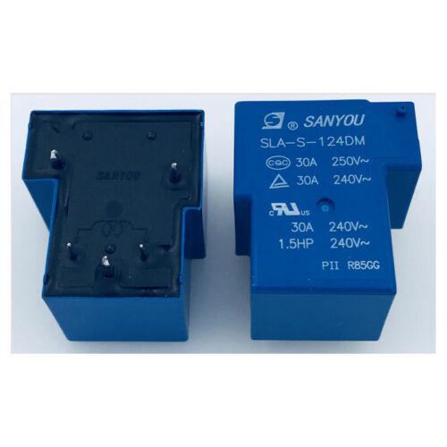 SANYOU SLA-S-124DM 24VDC 30A 250VAC  T90 Power Relay Brand New 5 Pins