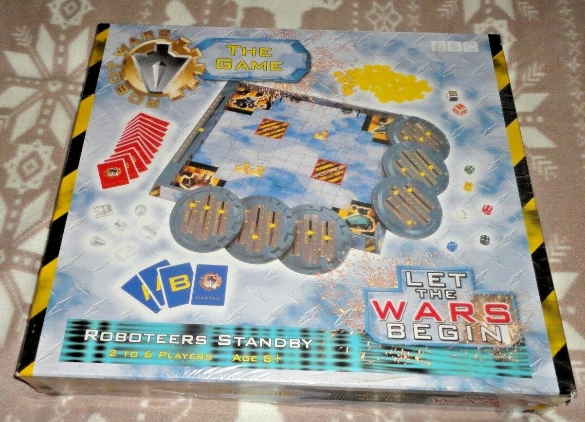 Robot Wars The Game BBC NEW & SEALED