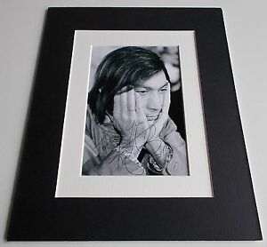 Charlie-Watts-Signed-Autograph-10x8-photo-display-Rolling-Stones-Music-AFTAL-COA