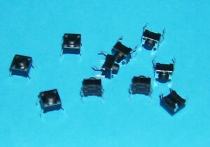 DIP-Drucktaster-Taster-Schalter-AC-250V-DC-12V-50mA-10-St