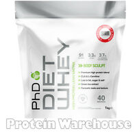 Phd Nutrition Diet Whey 1kg High Lean Protein Weight Loss Slimming Shake