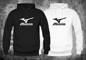 Mizuno-Golf-Golfing-Logo-Black-White-Hoodies-Size-XS-XL