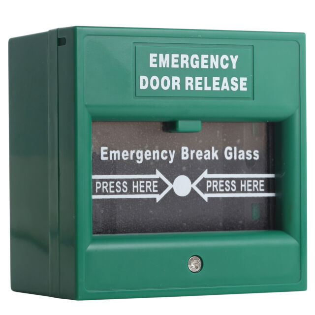 Wired Security Button Hands Break Glass for Fire Emergency Alarm ...