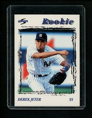 1995 Derek Jeter Pinnacle Brands Rookie Baseball Card New York Yankees Ebay