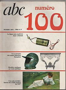 REVUE-ANCIENNE-ABC-LES-ARMES-BLANCHES-LES-INROS-FEVRIER-1973-N-100