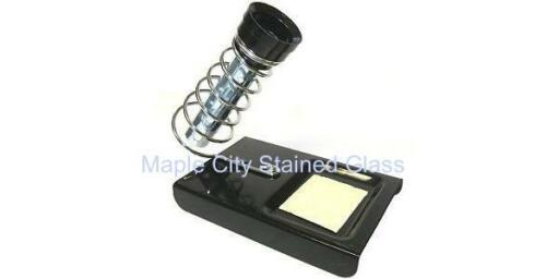 Stained Glass Supplies Large Soldering Iron Stand New with sponge