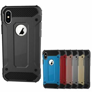 Shockproof-Bumper-Case-For-Apple-iPhone-10-X-8-7-Plus-6s-5s-Hybrid-Armor-Rugged