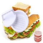 DIY Plastic Hamburger Meat Compactor Press Mold Grill Burger Maker Kitchen Tool
