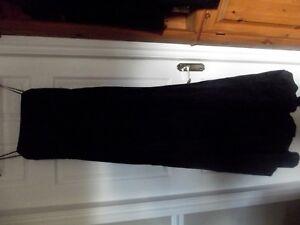 Aimable Laundry By Shelli Segal Pour Femme Noir Soirée Taffetas Robe Taille 10