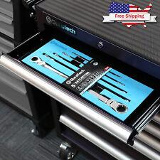 New Listingduratech Extra Long Flex Head Double Box End Ratcheting Wrench Set Sae 5 Pcs