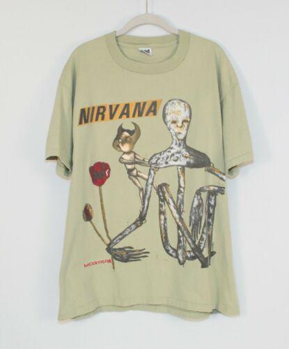 Vintage 1993 Nirvana Incesticide Shirt Size XL Kur
