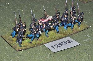25mm-Unione-ACW-Guerra-Civile-Americana-Fanteria-16-cifre-INF-12432