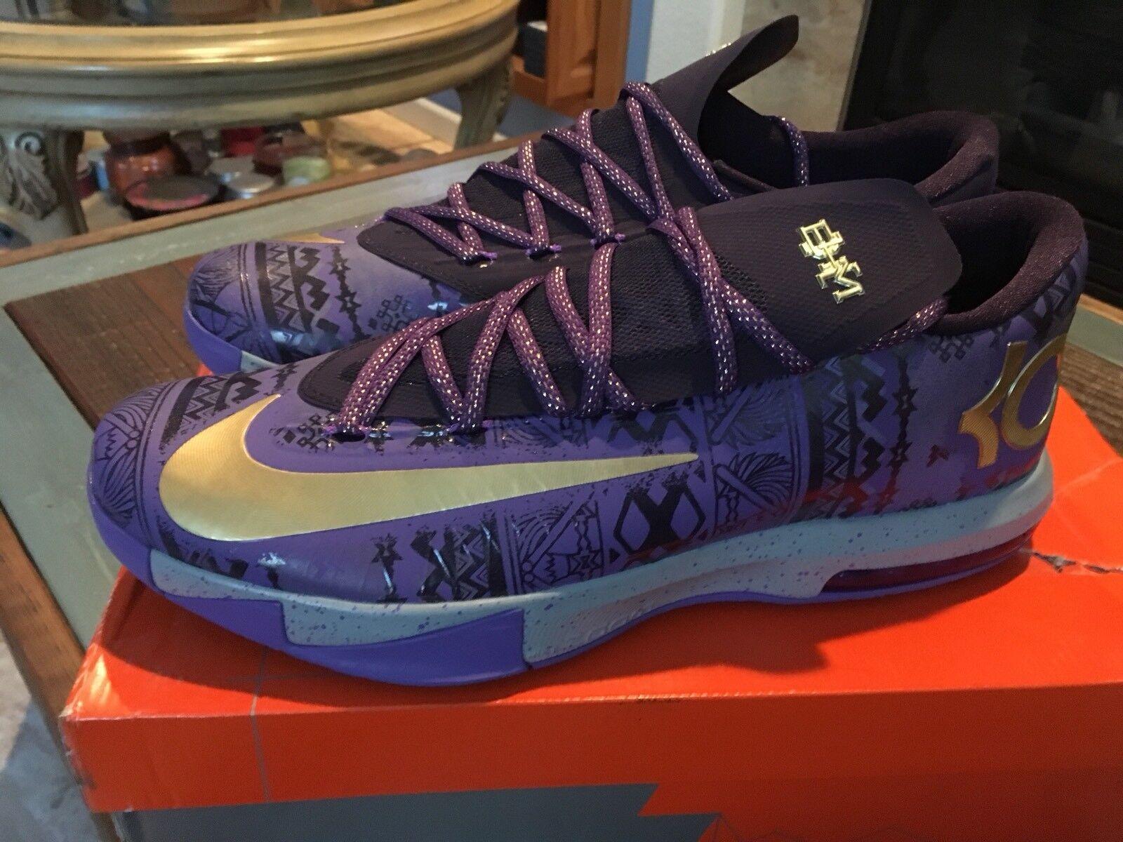 best sneakers a9912 8aa37 ... best price nike kd vi 6 bhm el mes de la historia 500 negra oro purpura