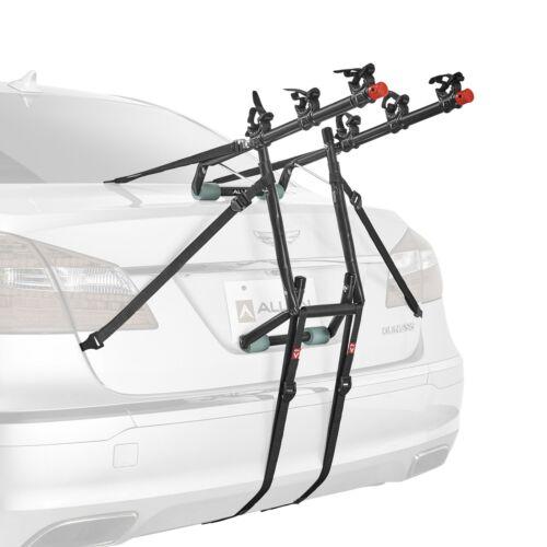 Fits Sedan//Hatchback//Minivan//SUVs Easy Set-Up Details about  /3-Bike Trunk Mount Bicycle Rack