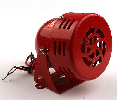 12V Car Truck Driven Air Raid Siren Alarm Loud Sound Fire Security Rescue Horn