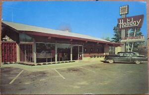 Image Is Loading 1959 Chrome Postcard Holiday Restaurant Rockingham Nc