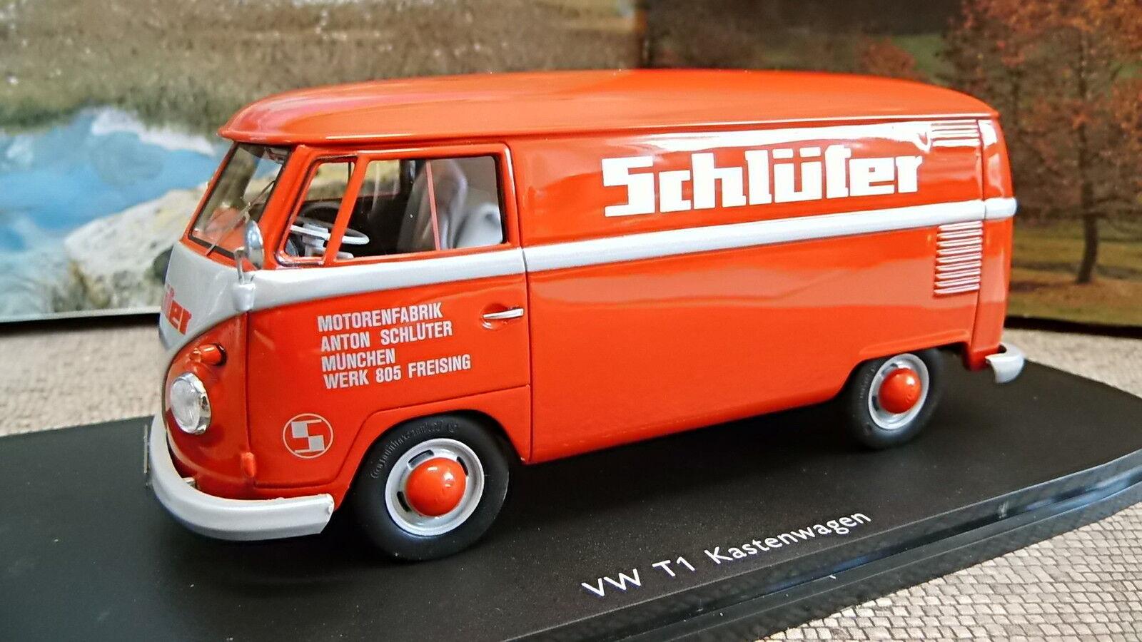 Schuco 450892800 1 32 vw t1 Transporteur Schlüter Nouveau neuf dans sa boîte