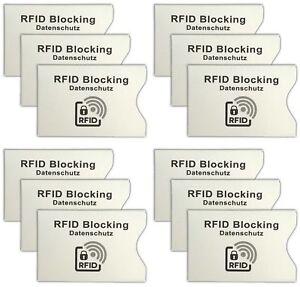 12-Stueck-RFID-Schutzhuellen-Personalausweis-Schutzhuelle-EC-Karte-Huelle